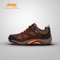 【满200减100】Jeep/吉普 男款户外运动春秋款徒步登山鞋J662039103