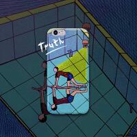 「玩闹智造」原创设计插画清新iPhone6s/6Plus个性潮手机壳包邮