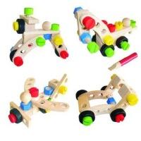【领券立减50元】外贸 拼装螺丝螺母组合玩具 宝宝组装飞机车模型 儿童益智玩具