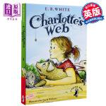 """夏洛的网 夏洛特的网 英文原版 Charlotte's Web 一首关于生命、友情、爱与忠诚的赞歌,一部傲居""""美国伟大的十部儿童文学名著""""首位的童话!"""