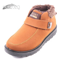 欣清正品新款老北京布鞋男鞋保暖中老年雪地靴厚底冬季爸爸鞋防水