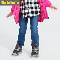 巴拉巴拉童装女童长裤中大童学生裤子 冬装儿童童裤女