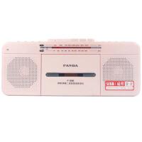 【当当自营】 熊猫/PANDA F-336 语言复读机收录机台式磁带U盘复读机磁带录音机收音机MP3播放器播放机usb学习机 红色