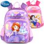 【用券价59  仅限20日】Disney迪士尼小学生专用书包正品减压双肩包女孩上学书包多功能背包A