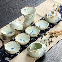 尚帝 功夫茶具套装 玲珑茶具套装 精美玲珑九款套装DT-QCTZ9K