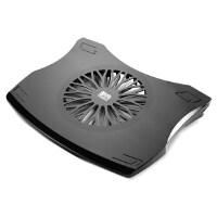【当当自营】 酷奇 YCP-014 怡本系列 笔记本散热器 14寸15.6寸 电脑散热架 散热底座 垫 支架 黑色