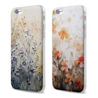 【全国包邮】hidog 苹果6plus手机壳碎花文艺女iPhone6s plus保护套硅胶浮雕女