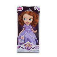 迪士尼正品 Sofia苏菲亚小公主会唱歌 芭比娃娃 小小公主苏菲亚索菲亚 唱歌娃娃 女孩生日礼物