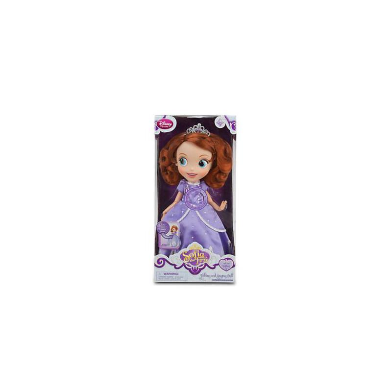 迪士尼正品 sofia苏菲亚小公主会唱歌 芭比娃娃 小小公主苏菲亚索