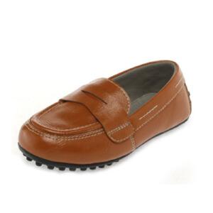 Shoebox/鞋柜时尚帅气按摩豆豆底男童鞋皮鞋