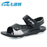 七波辉男童凉鞋 夏季新品男大童凉鞋 舒适休闲凉鞋男大童凉鞋