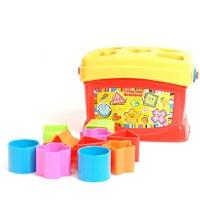 [当当自营]Fisher Price 费雪 启蒙积木盒 婴儿玩具 K7167