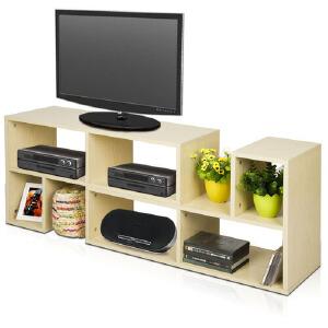 [当当自营]慧乐家 泊雅特组合电视柜11082 白枫木色 组合电视柜 优品优质