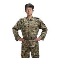 户外休闲简约外军迷彩服户外运动服装BDU常规款舒适耐穿耐磨CP多用途军用迷彩服