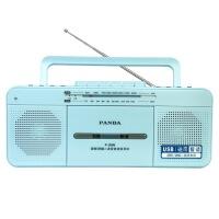 【当当自营】 熊猫/PANDA F-336 语言复读机收录机台式磁带U盘复读机磁带录音机收音机MP3播放器播放机usb学习机 蓝色