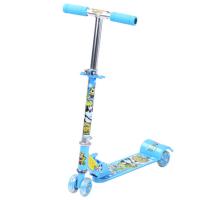 全铁四轮儿童闪光滑板车 脚踏滑车 踏板车 童车