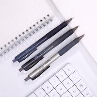 【满99-30满199-80】得力33366水笔0.35mm全针管 黑色 24支/桶 学生专用 中性笔