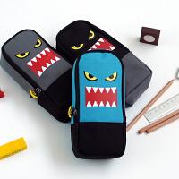 languo蓝果  LG-8382 萌怪星球酷潮版  背包笔袋 颜色图案随机 单个销售 当当自营