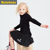 【6.26巴拉巴拉超级品牌日】巴拉巴拉童装女童毛衣套头中大童上衣冬装儿童针织衫