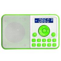 【当当自营】 熊猫/PANDA DS-172 数码音响播放器 插卡音箱 立体声收音机 绿色