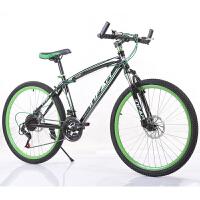 26寸21速双碟刹山地自行车   休闲运动  变速自行车