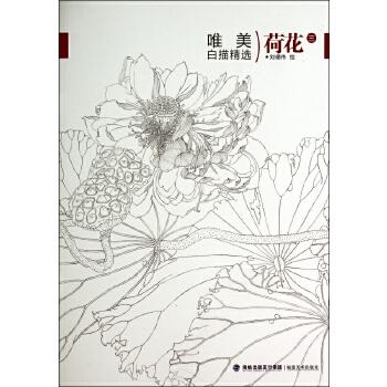 荷花(3)/唯美白描精选 绘画:刘德伟