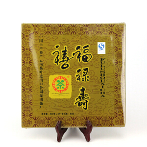 【五盒】2007年中茶福禄寿喜 茶好值得收藏 生茶