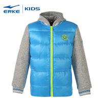 【618大促】鸿星尔克童装冬季新款大童男童休闲保暖外套儿童羽绒服夹克