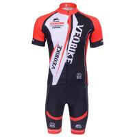 男女款自行车服短袖长袖套装户外运动骑行服