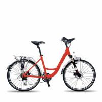 2016欧狼单车旅行车自行车炫影-1 21速铝肩避震前叉前后机械 减震山地车男女变速自行车学生单车
