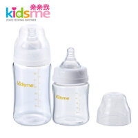 亲亲我婴儿宽口径高硼硅玻璃奶瓶套装(150ml+240ml) 908935