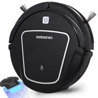 视贝seebest 全自动智能回充 含水箱大抹布 干抹湿拖 扫地机器人 家用扫地机 吸尘器 D730