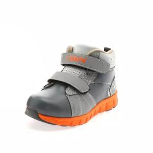 鞋柜SHOEBOX冬款靴拼接撞色双排魔术贴加厚运动鞋男童鞋