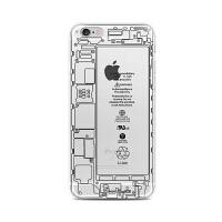 【全国包邮】hidog 苹果iPhone6s手机壳4.7全包硬壳半透明6s plus保护壳创意男