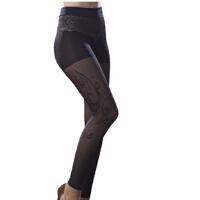港洁薄款修身美腿塑形高弹假透肉打底裤功能内衣