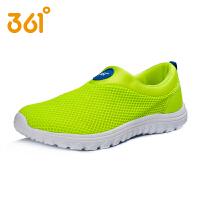 361度童鞋男童春夏款轻便透气网面休闲鞋套筒男童跑鞋中大童运动鞋