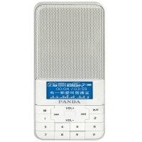 【当当自营】 熊猫/PANDA DS-178 插卡音响FM收音机迷你小音箱老人礼物MP3播放器 白色