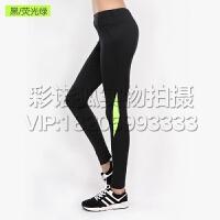 春夏运动裤女速干跑步健身裤弹力打底裤瑜伽紧身裤训练长裤