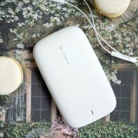 JS 充电宝可爱超薄聚合物移动电源10000毫安安卓苹果专用个性创意