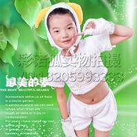 新款小羊小山羊儿童表演服喜洋洋美洋洋儿童动物服装幼儿园演出服