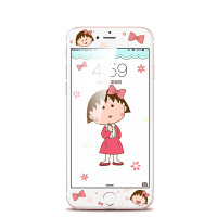 6plus钢化膜6s苹果全屏全覆盖彩膜卡通贴膜iphone6手机膜6splus
