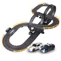 音速风暴轨道赛车 电动遥控益智轨道汽车 男孩儿童玩具套装 6米双人电动TR-01