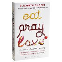 一辈子做女孩 英文原版  Eat,pray,love 英文 Elizabeth Gilbert(伊丽莎白・吉尔伯特)著