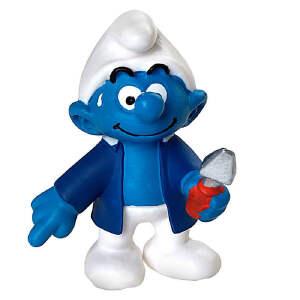 [当当自营]Schleich 思乐 蓝精灵系列 房管员蓝精灵系列 仿真塑胶模型收藏玩具动漫周边 S20768