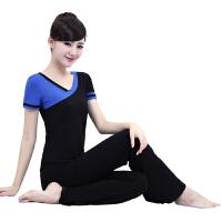 2015春夏瑜伽服套装短袖健身房运动服练功服 舞蹈服