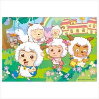 古部迪士尼 喜羊羊和他的朋友们300片拼图 儿童益智玩具 11EF2001328