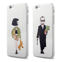 【全国包邮】hidog 苹果iPhone6手机壳个性男女6plus保护套情侣浮雕5s软硅胶薄