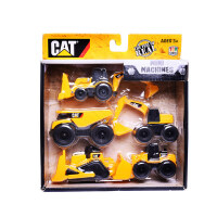 [当当自营]CAT 卡特 沙滩系列 工程车套装(五只装)34601