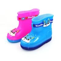 儿童雨鞋男童女童防滑水鞋 宝宝雨靴小孩学生胶鞋
