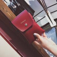 韩版个性手机袋挂脖斜挎包手机包女2017新款迷你小包单肩零钱包女XG